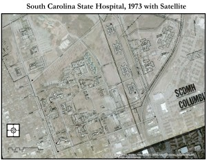 Version 1.0: 1973 Historic Map Overlaid onto Satellite Imagery